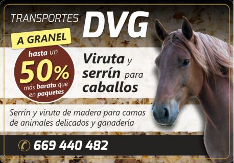50% DESCUENTO EN VIRUTA Y SERRIN TRANSPORTES DVG