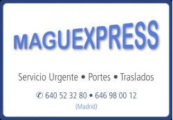 MAGUEXPRESS SERVICIO URGENTE PORTES Y TRASLADOS