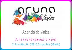 ARUNA AGENCIA DE VIAJES CAMPO REAL MADRID