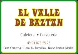 EL VALLE DE BAZTAN CAFETERIA CERVECERIA