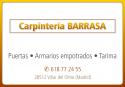 CARPINTERIA BARRASA