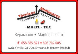MULTI - TEC SERVICIO TECNICO CALDERAS GASOIL