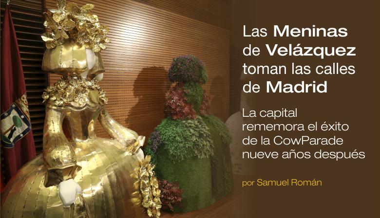 Las Meninas de Velazquez toman las calles de Madrid