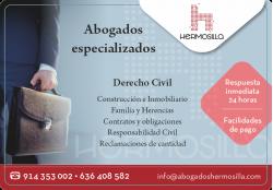 HERMOSILLA ABOGADOS MADRID EUROVILLAS NUEVO BAZTAN