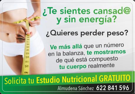 ESTUDIO NUTRICIONAL GRATIS ALMUDENA SANCHEZ HERBALIFE