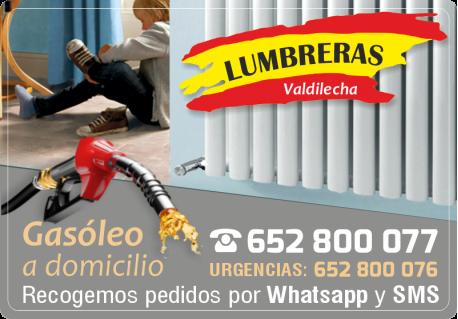 GASOLEOS CALEFACCION LUMBRERAS VALDILECHA BARATO MEJOR PRECIO