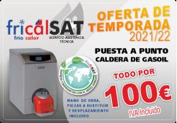 PUESTA A PUNTO DE CALDERA DE GASOIL SOLO 100€ FRICALSAT EUROVILLAS