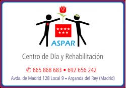 ASPAR CENTRO DE DIA Y REHABILITACION ARGANDA DEL REY MADRID