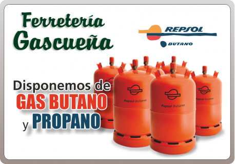 GAS BUTANO Y PROPANO FERRETERIA GASCUEÑA