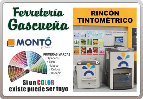 RINCÓN TINTOMÉTRICO FERRETERIA GASCUEÑA