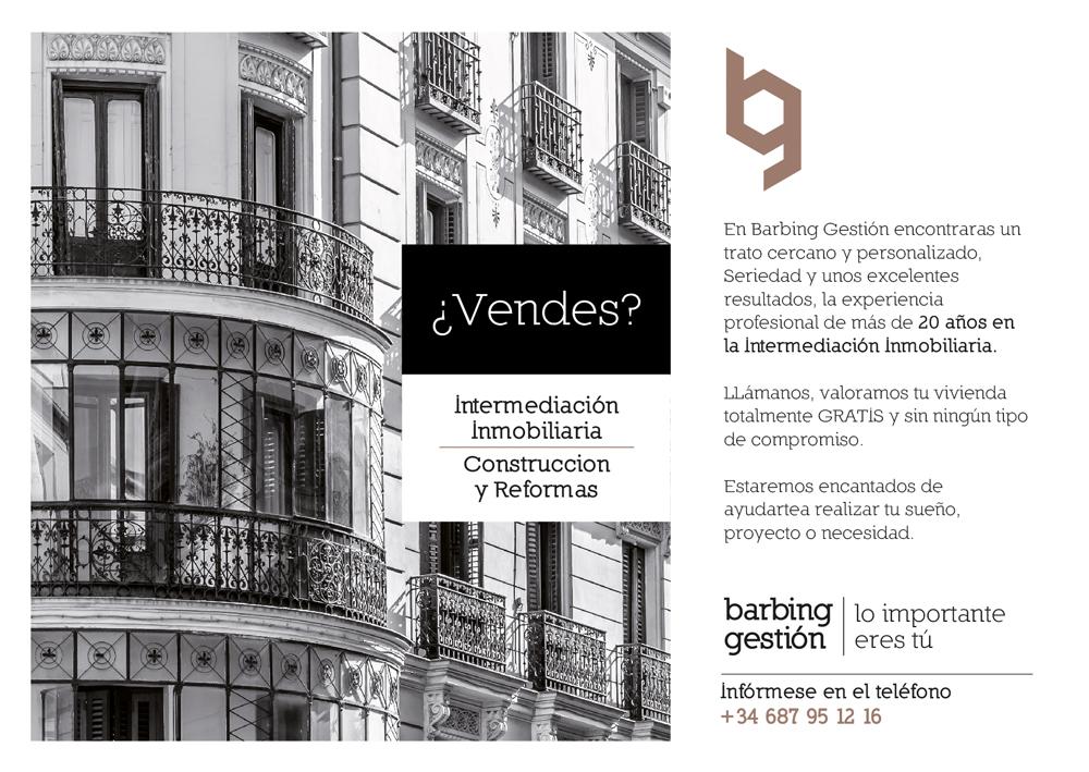 Barbing Gestión Inmobiliaria Obras y Reformas