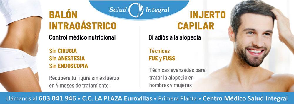 INJERTO CAPILAR Y BALON INTRAGASTRICO SALUD INTEGRAL