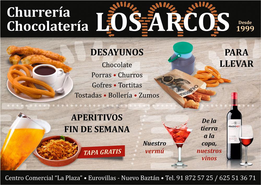 Churrería Cocolatería LOS ARCOS Eurovillas